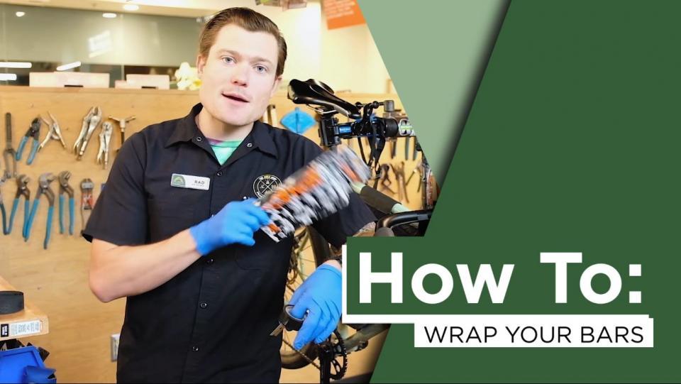 How to: Wrap Bike Handlebars