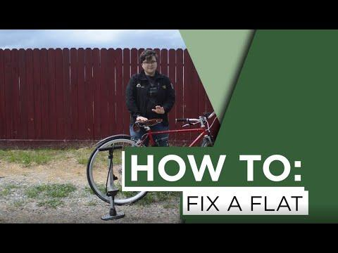 How to: Fix a Flat